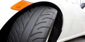 汽车轮胎侧面标识