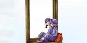 初二作文:生活是面镜子800字