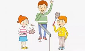 二年级打羽毛球日记